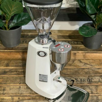 Mazzer Super Jolly Electronic White Espresso Coffee Grinder 1858 Princes Highway Clayton VIC 3168