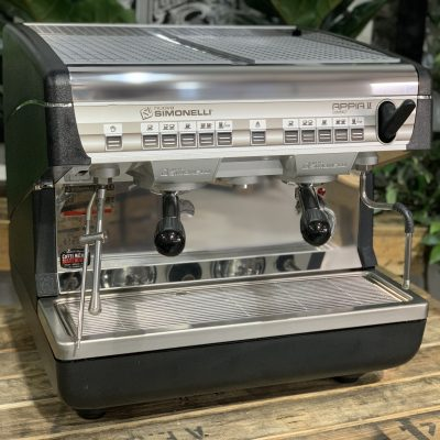 Nuova Simonelli Appia II 2 Group High Cup Brand New Easy Cream - Stainless Steel Espresso Coffee Machine Warehouse 1858 Princes Highway , Clayton 3168 VICIMG_3765