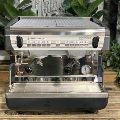 Nuova Simonelli Appia II Compact High Cup Brand New - Stainless Espresso Coffee Machine Warehouse 1858 Princes Highway , Clayton 3168 VICIMG_3751