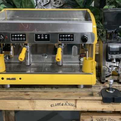 Wega Polaris 2 Group Yellow High Cup & ZF64 Electronic Package Coffee Machine Warehouse 1858 Princes Highway , Clayton 3168 VICIMG_9512