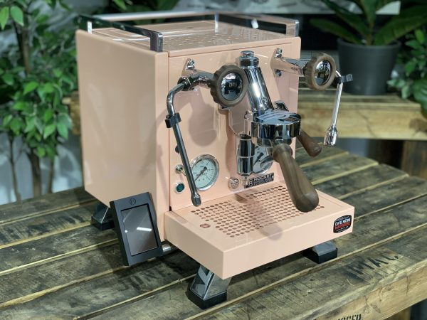 Rocket Cinquantotto 1 Group Pink Timber New Espresso Coffee Machine 1858 Princes Highway , Clayton VIC 3168IMG_1023